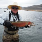 Rich with a beautiful Lahontan cutthroat.