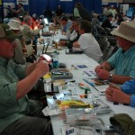 Fly tying masters.